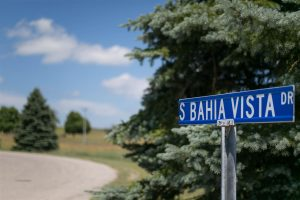 bahia vista street sign