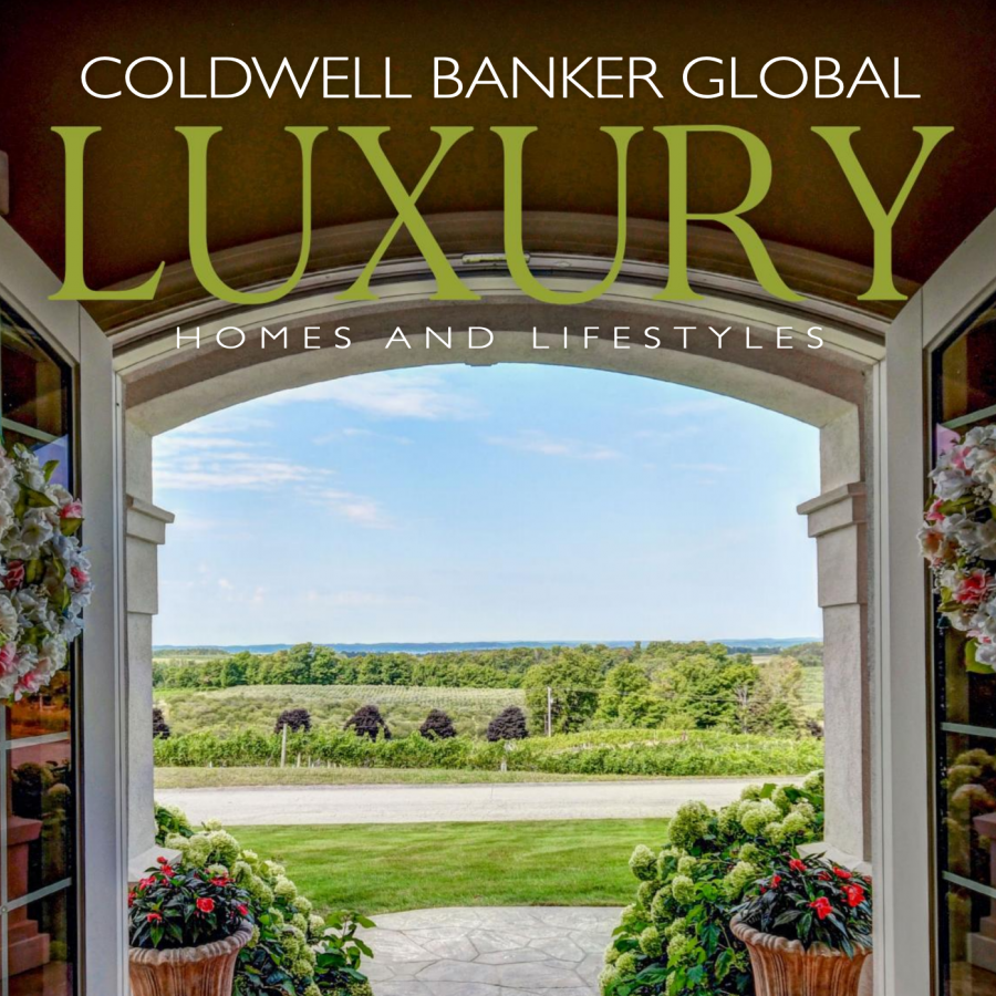 Front Cover the of Coldwell Banker Global Luxury Magazine